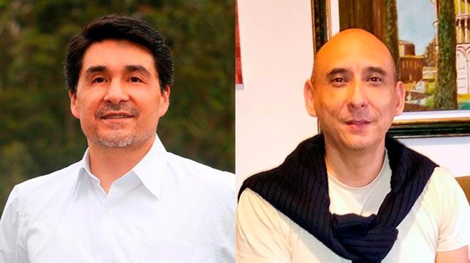 Augusto Rojas y Xavier Caicedo.