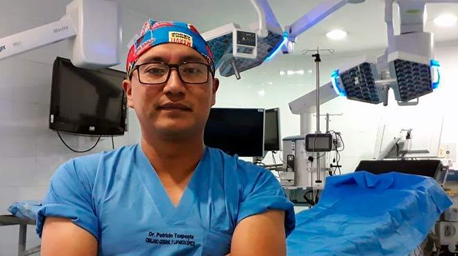 Patricio Toapanta, docente de la academia AMIR Ecuador.