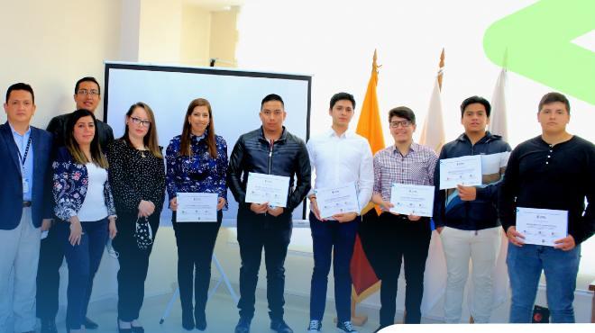 Estudiantes de la UTPL reconocidos por la agencia.