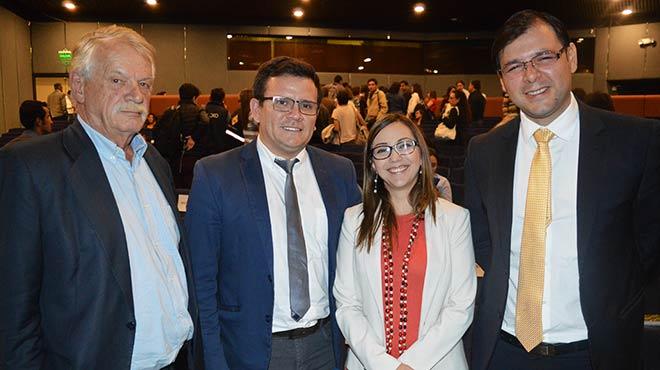 Christian Wahli (ANFAB), Jimmy Jurado (ARCSA), Ver�nica Espinosa (MSP), Juan Carlos Galarza (ARCSA).