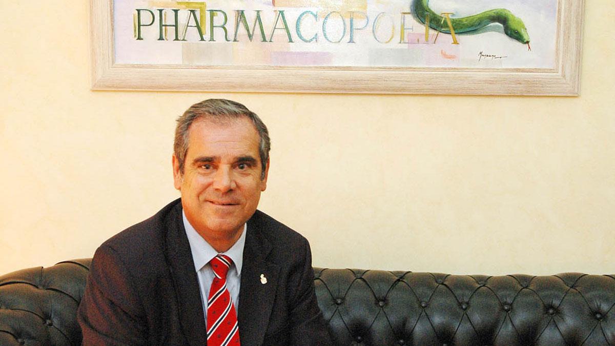 Jesús Aguilar, presidente del Consejo General de Farmacéuticos de España.