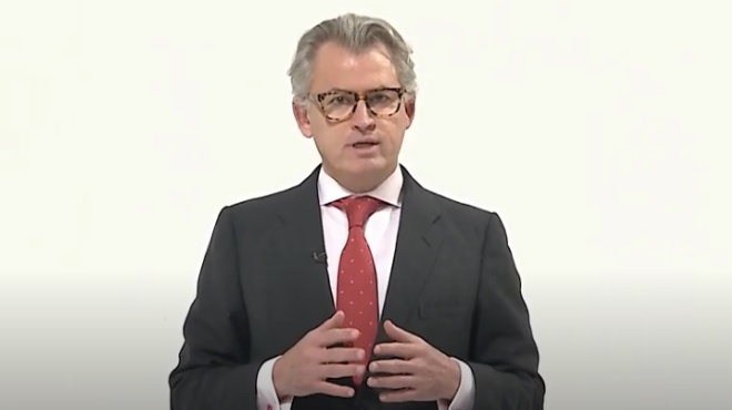 Agust�n Alb�n, titular de la Senescyt.