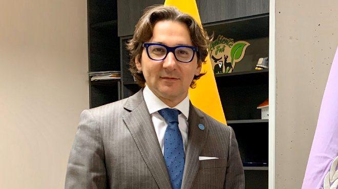 Agust�n Zimmermann, representante de FAO en Ecuador.