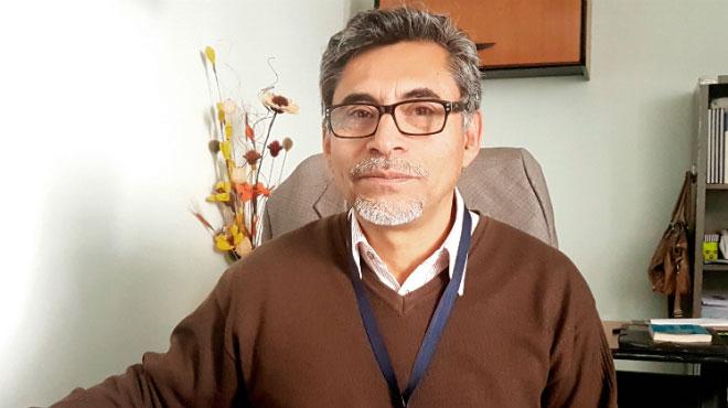 Alberto Narv�ez, coordinador de la Plataforma por la Salud y la Vida