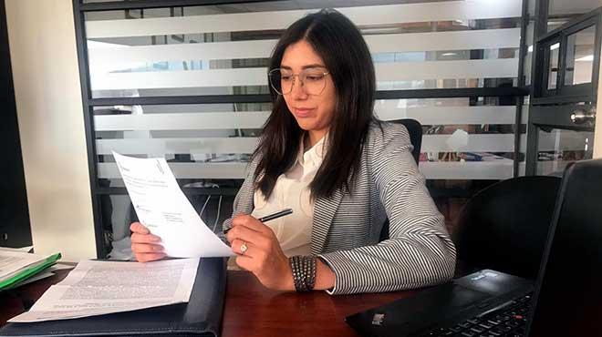 Alegr�a B�ez, abogada de DS Legal Group.