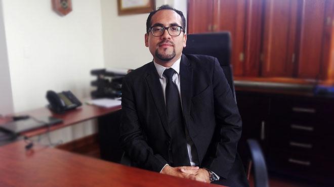 Alex Robalino, gerente del HEEE.