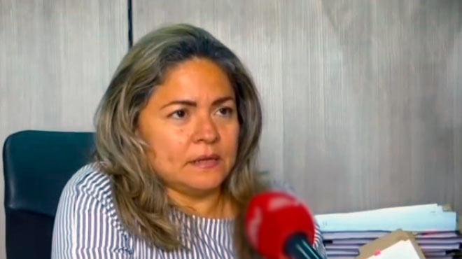 Alexandra Castro, fiscal del caso.