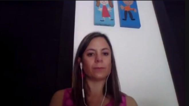 Ana Mar�a Viteri, invitada del primer episodio.