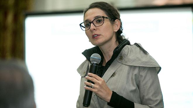 Ana Lucía Bucheli, directora Nacional de Promoción de la Salud.