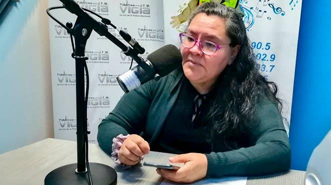 Ana Luc�a Ruano, consejera del CACES.