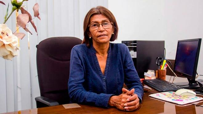 Ana Rosario Contreras, presidenta del Colegio de Enfermeras de Caracas.