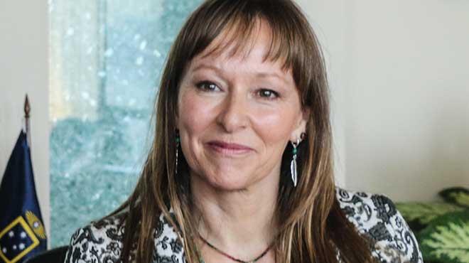Ana Mar�a Gazmuri, presidenta de la Fundaci�n Daya