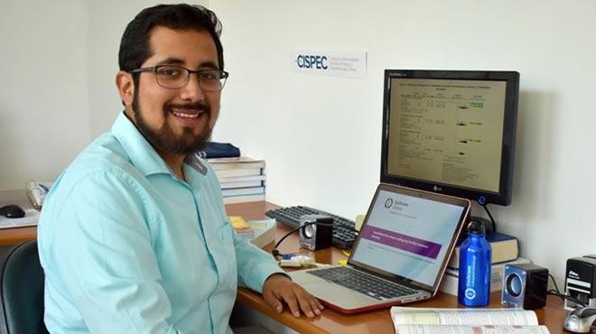 Andrés Viteri, investigador de la UTE.
