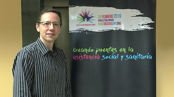 Manuel Andrade, asesor m�dico de Sanofi Genzyme.