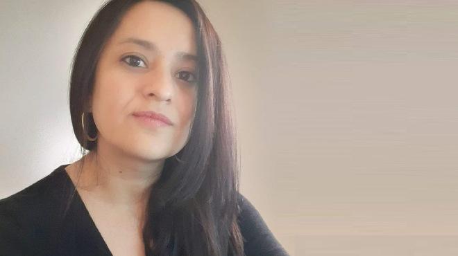 Andrea G�mez Ayora, m�dica epidemi�loga.