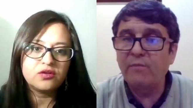 Andrea G�mez y Enrique Ter�n.