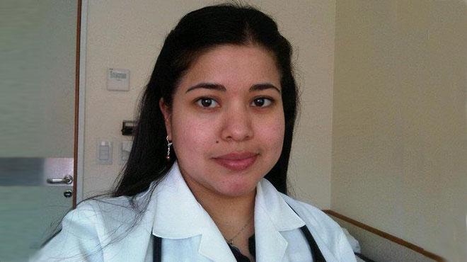 Andrea Noboa, hemat�loga.