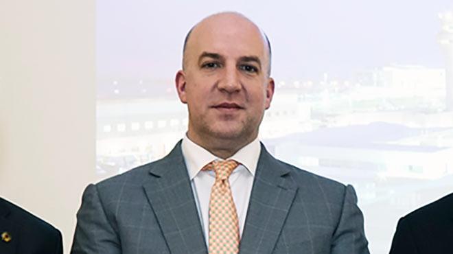 Andrew O�Brian, presidente de Corporaci�n Quiport S.A