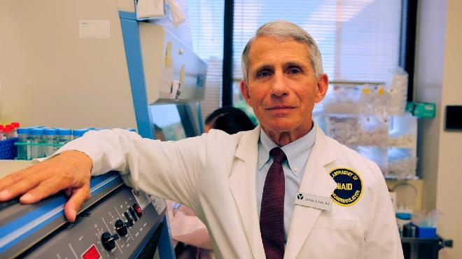 Anthony S. Fauci, director del NIAID.
