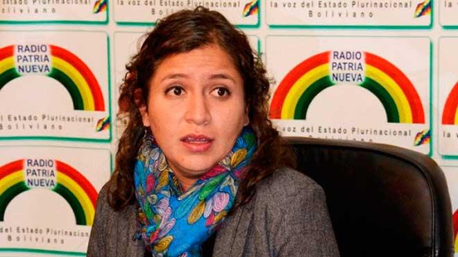 Ariana Campero Nava, ministra de Salud.