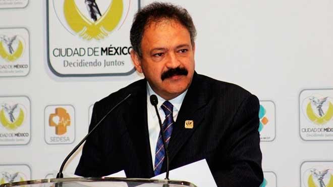 Armando Ahued Ortega, secretario de Salud de la Ciudad de M�xico