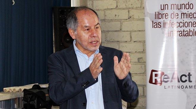 Arturo Quizhpe, director de la ReAct Latinoam�rica.