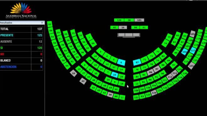 El Pleno realiz� su primera sesi�n virtual.