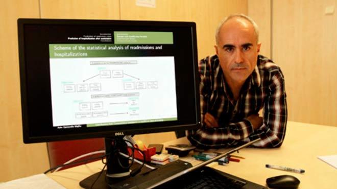 Asier Garmendia, investigador de la UPV/EHU