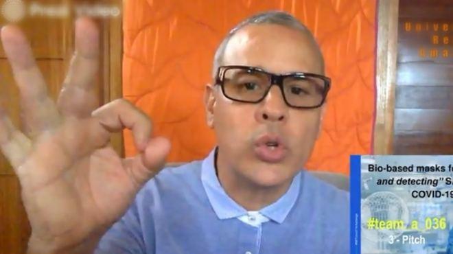 Leopoldo Naranjo Brice�o, investigador de Ikiam.
