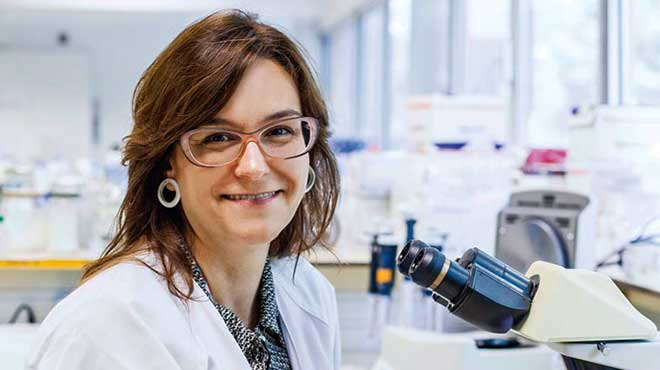 Beatriz Mothe, investigadora.