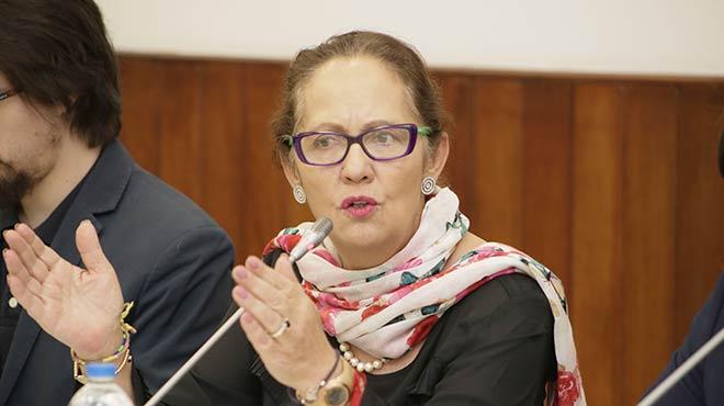 Berenice Cordero, ministra de Inclusi�n Econ�mica y Social.