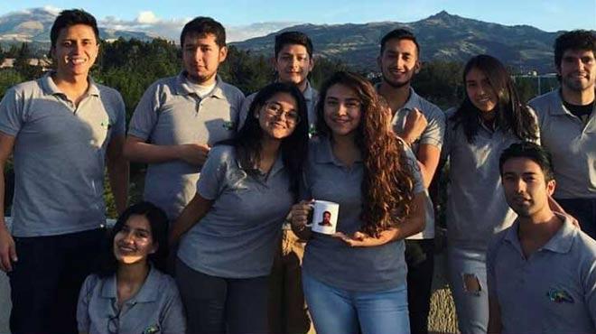 Estudiantes del grupo de Biolog�a Sint�tica de la ESPE.