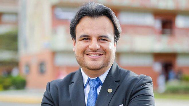 Byron Bustamante, investigador de la UTPL.