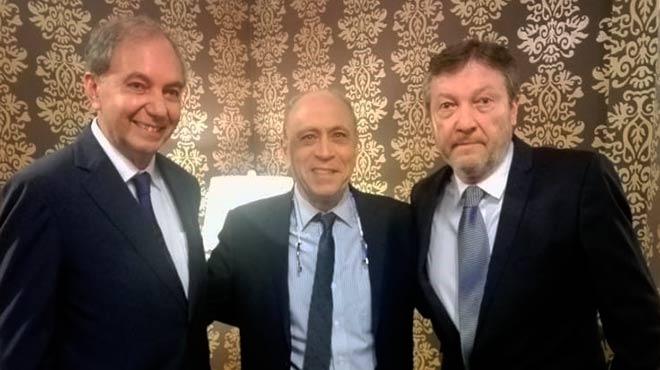 Iv�n Salvador, Henry Cohen y Marco Fornasini.