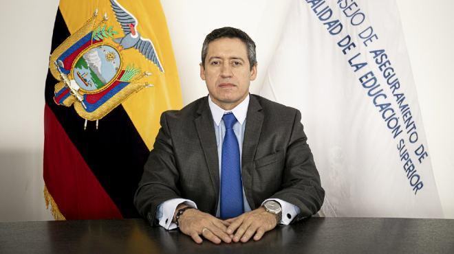 Juan Manuel Garc�a, presidente del Caces.