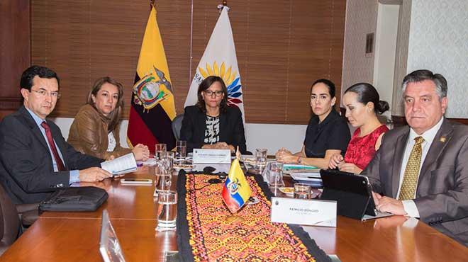 Miembros del CAL de la Asamblea Nacional.