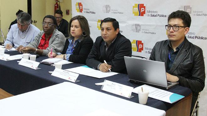 Participantes de la V asamblea del CCSS.