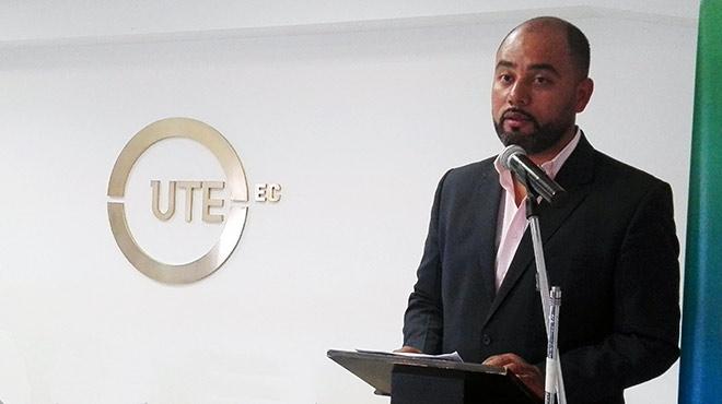 Juan Camilo Molina, presidente del CEISH de la UTE.