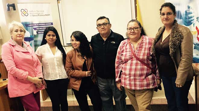 Martha Fors, Natalia Santamar�a, Natalia Carri�n, Miguel Ruano Nieto, Ana Luc�a Ruano y Thelvia Ramos.