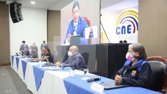 Firma de convenio entre Conadis, CNE y Fedotaxis.