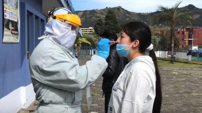 Quito ya confirma 43.307 casos positivos de CoVID19.