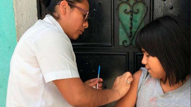 Campañas de vacunación contra el VPH.
