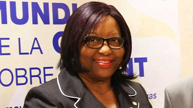 Carissa Etienne, directora de OPS.