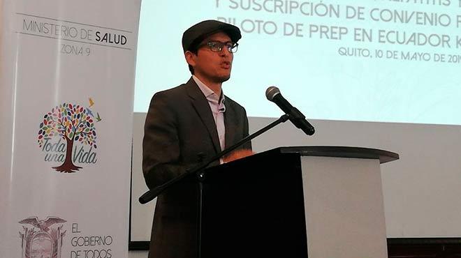 Carlos Dur�n, viceministro de Gobernanza y Vigilancia de la Salud.