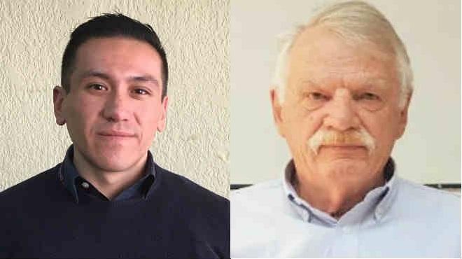 Carlos Cisneros y Cristhian Wahli.