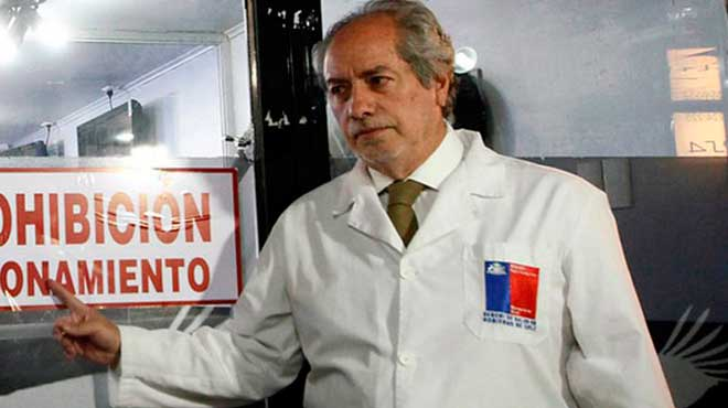 Carlos Aranda, Seremi de Salud.