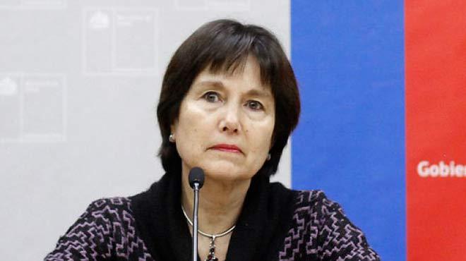 Carmen Castillo, ministra de salud.