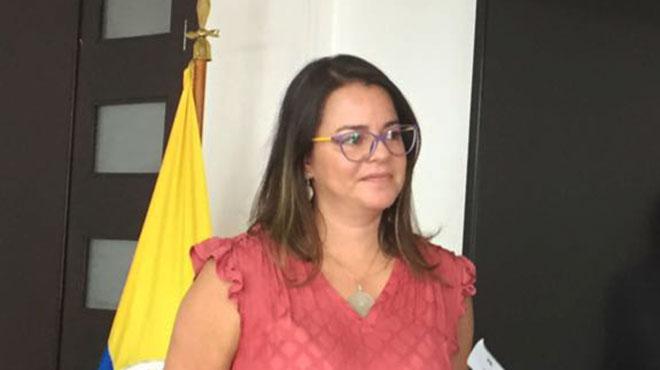 Carolina G�mez, directora de medicamentos del Minsalud.