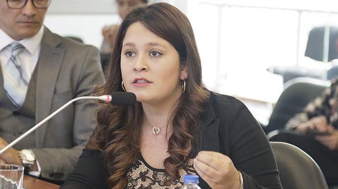 Catalina Espina, representantes de la SEMP.