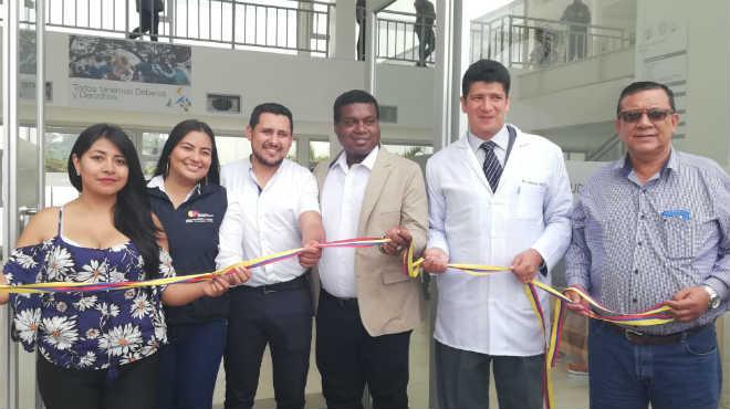 Inauguraci�n Centro de Salud Muisne